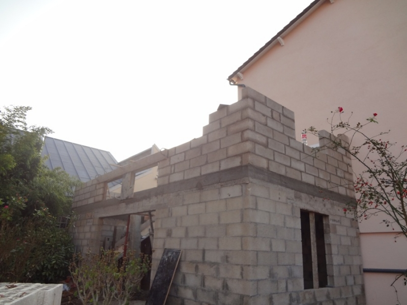 extension construction annexe maison