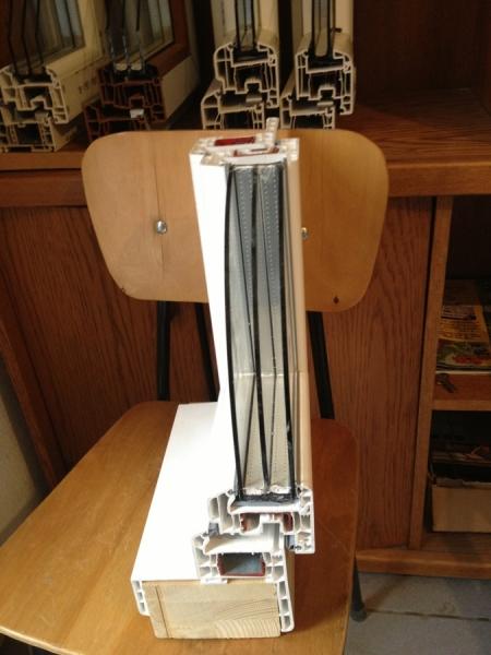 pvc profile fen tre porte isolation thermique phonique. Black Bedroom Furniture Sets. Home Design Ideas