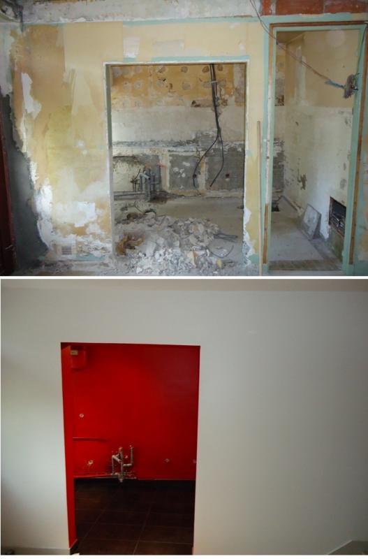 Parquet salle d eau excellent salon salle a manger gris for Restaurer une salle de bain